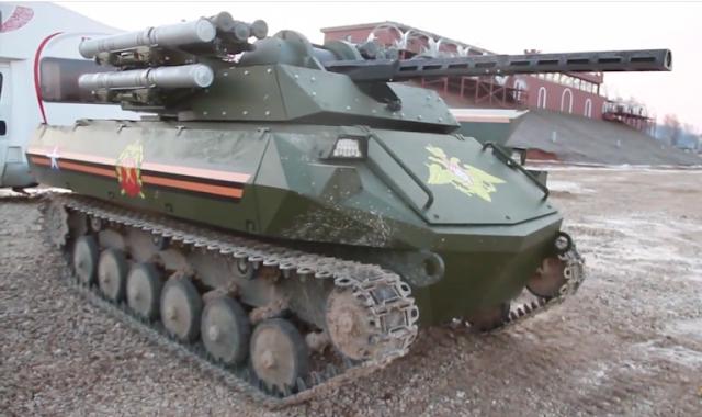 Tank Uran-9 Russia