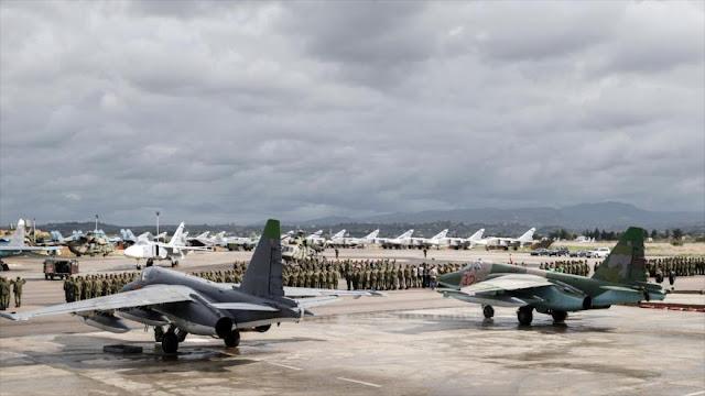 Fuerzas rusas rompen 'columna vertebral' de terroristas en Siria