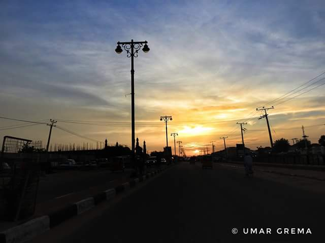 Photos: Despite Boko Haram insurgency, Maiduguri shines bright at night