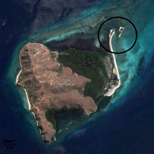 Pulau Sembilan Flores versi GOOGLE Map