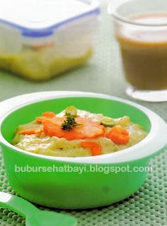 Kacang kedelai yaitu materi baku pembuat tempe Resep Bubur Nasi Tempe