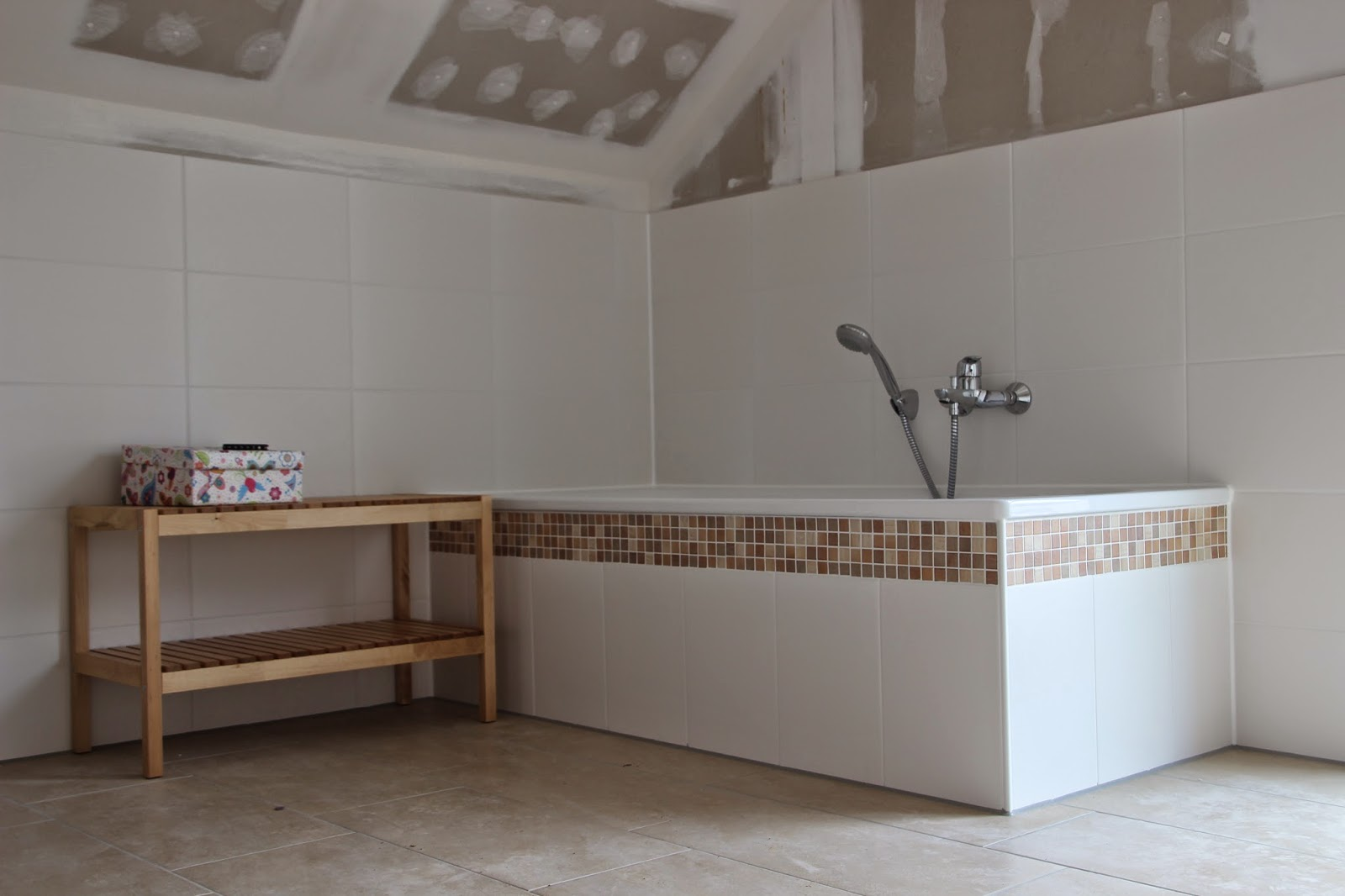 unsere villa sonnenschein unser badezimmer. Black Bedroom Furniture Sets. Home Design Ideas