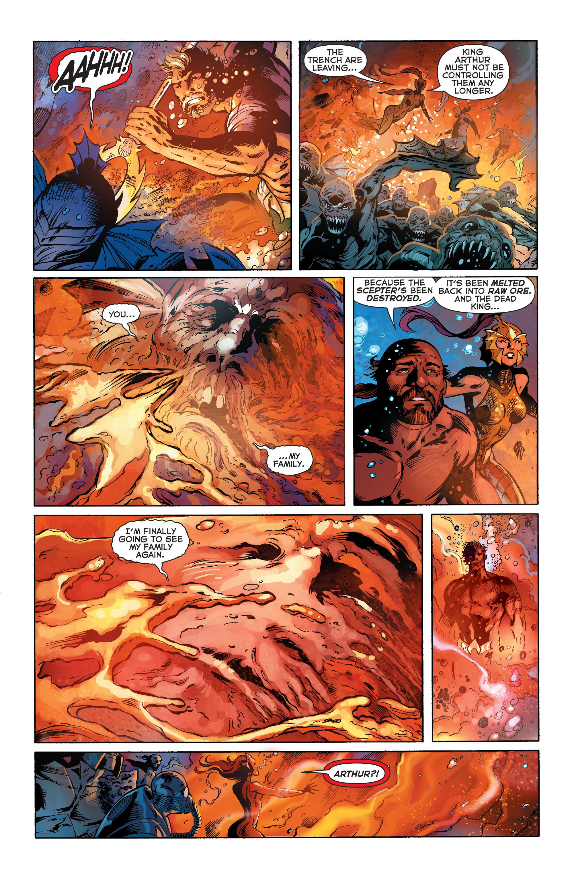 Read online Aquaman (2011) comic -  Issue #25 - 17
