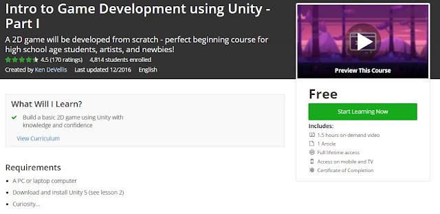 Intro-to-Game-Development-using-Unity-Part-I