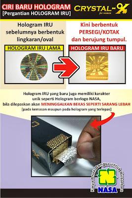 www.crystalxcentre.com Ciri - Ciri CRYSTAL-X ASLI Terbaru