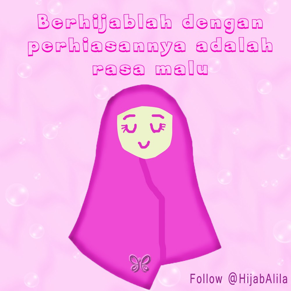 Gambar Kartun Hijab Alila