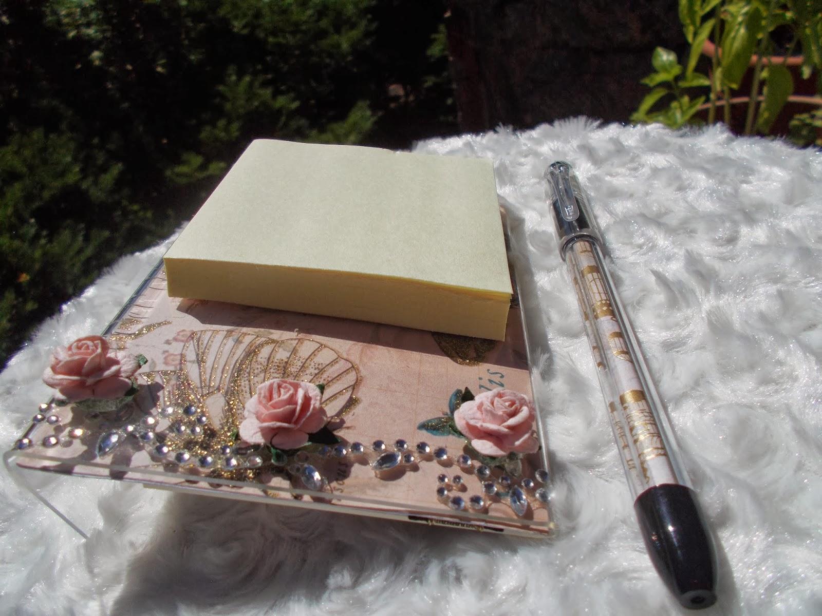 Crafts By Melinda Reversible Acrylic Notepad Holder