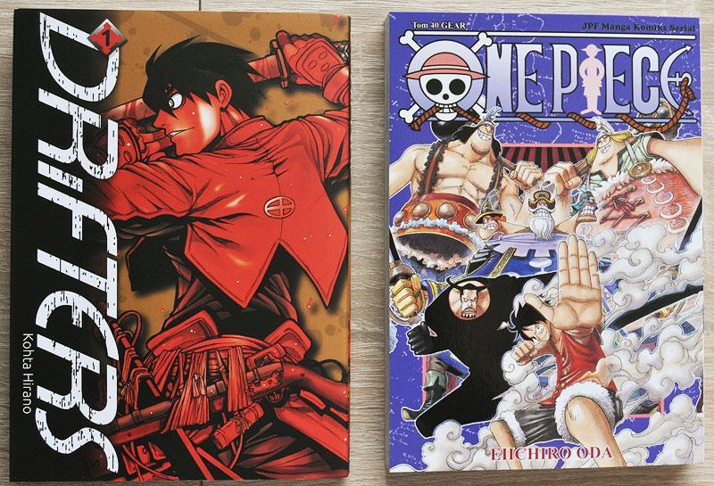 Drifters manga One Piece