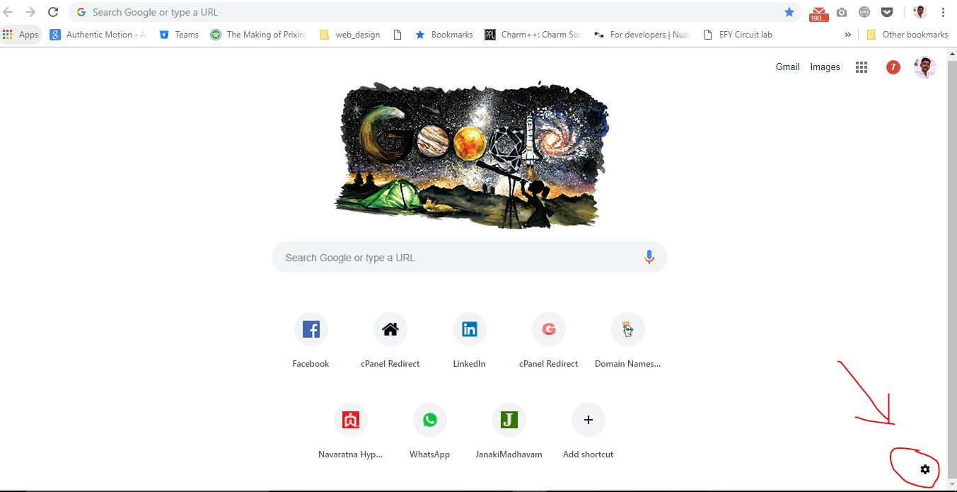 How to change, personalise background image on Google Chrome