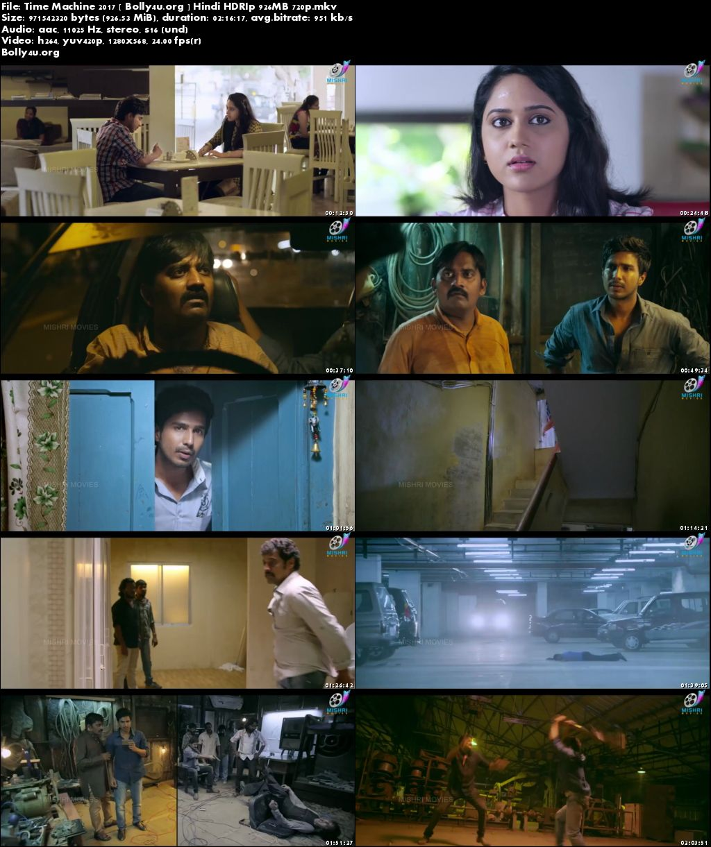 Time Machine 2017 HDRip 400Mb Full Hindi Movie Download 480p