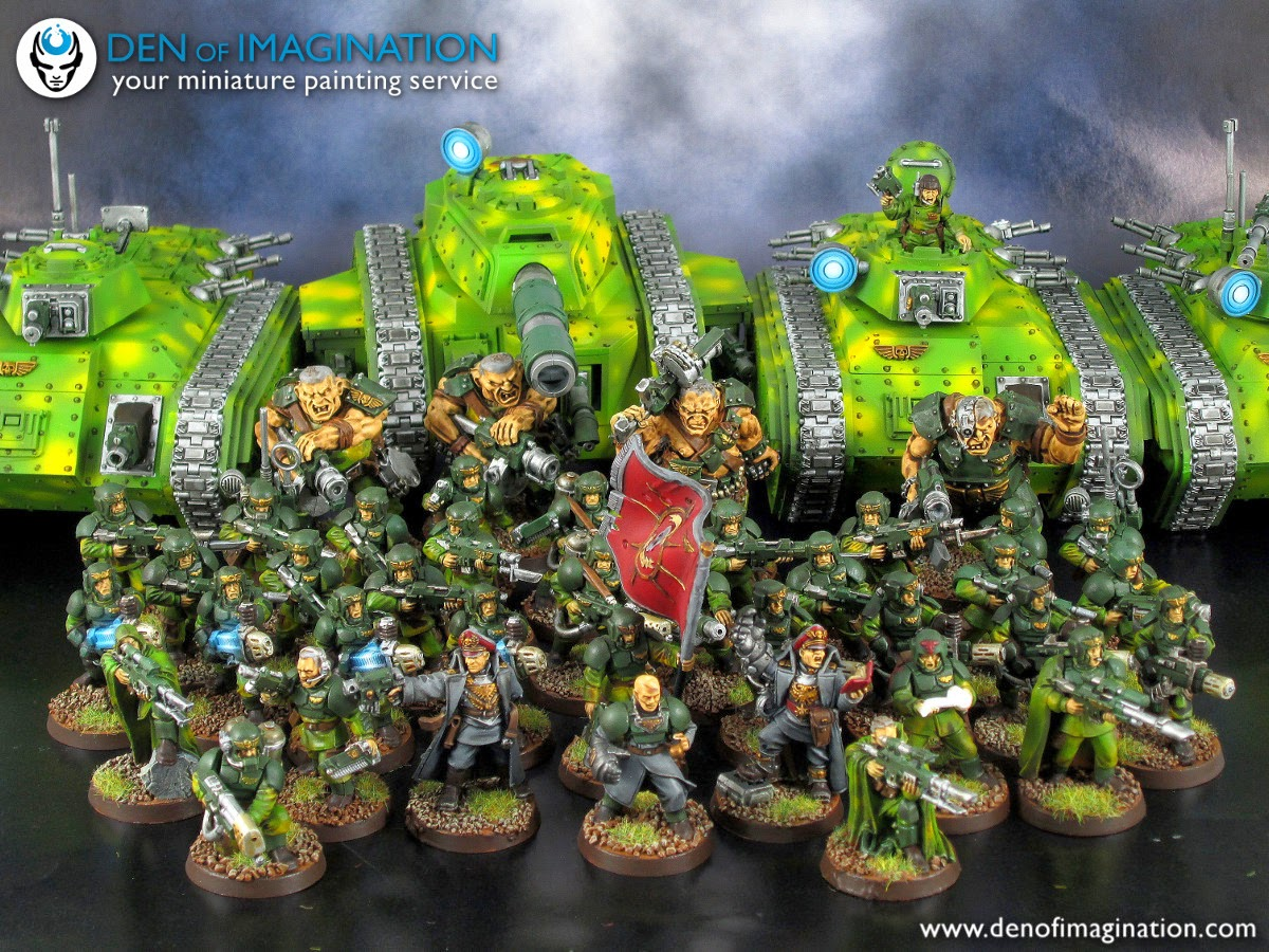 ecc13a0eed Blog - Imperial Guard army, basic level