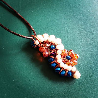 Copper Pendants, Copper Jewelry, CopperCreations, Wire Wrapped Jewellery