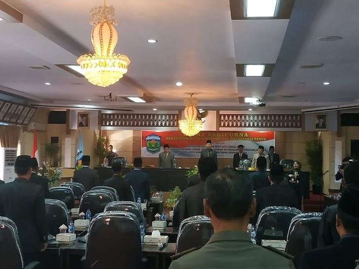 Terkait LKPJ 2018, Wako AJB Terima Rekomendasi Dewan
