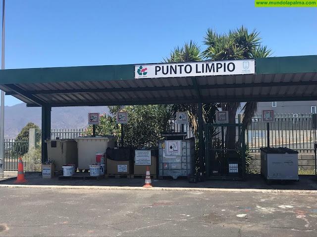 El Cabildo reabre la Red de Puntos Limpios en La Palma con restricciones para garantizar la seguridad de trabajadores y usuarios