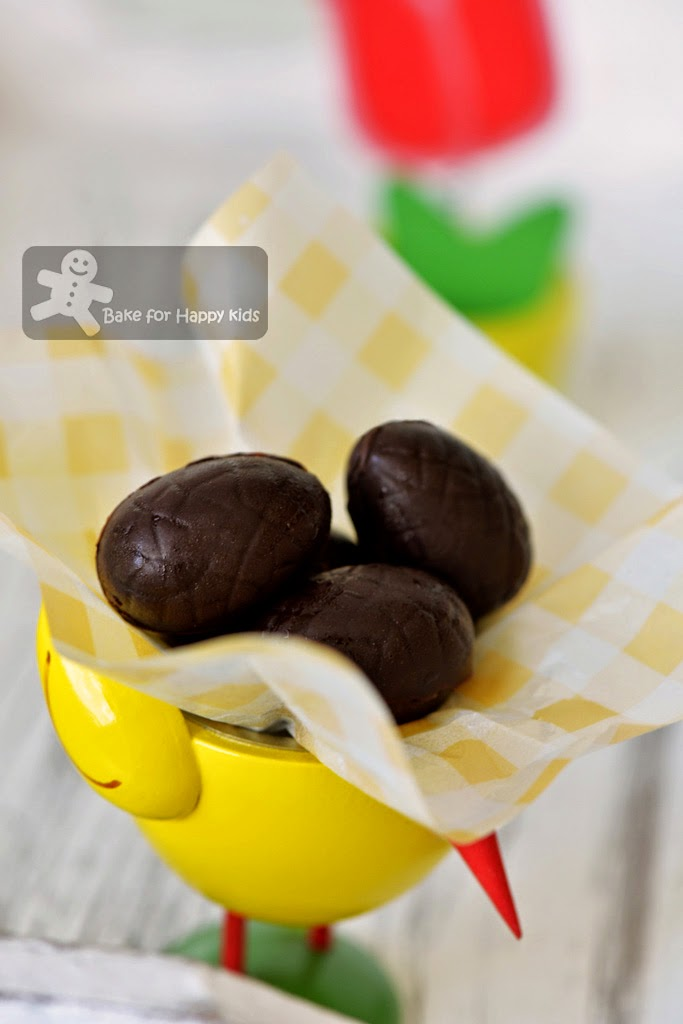 Tim Tam truffle chocolate Easter eggs