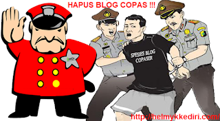 Dampak buruk mengelola blog copy paste