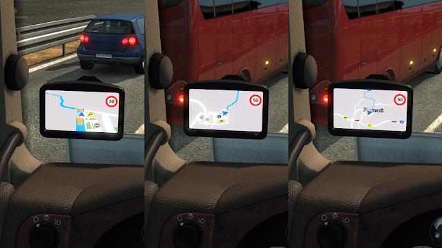 ets 2 google maps navigation for promods v1.8 screenshots 2