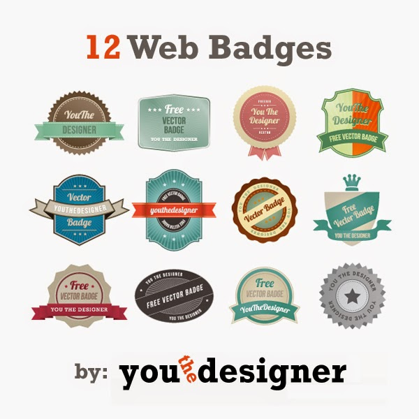 12 Web Badges
