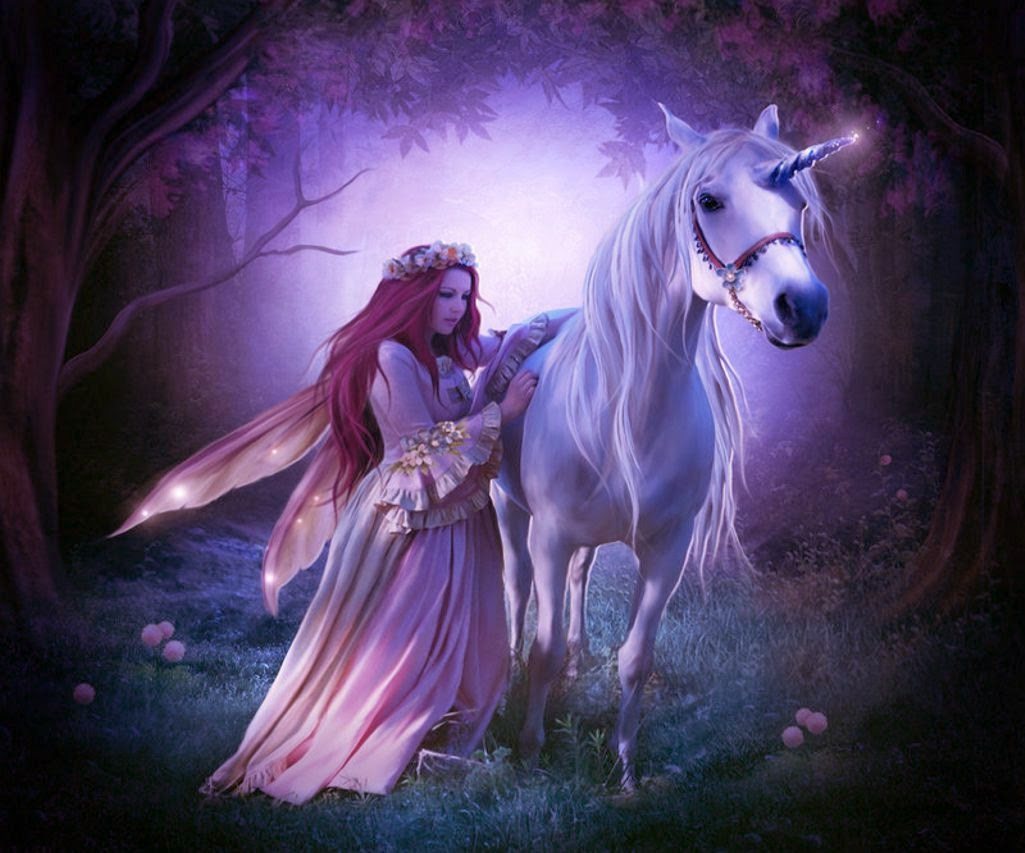 Princess With Unicorn Horse Fairy Tale Story Images For Girls