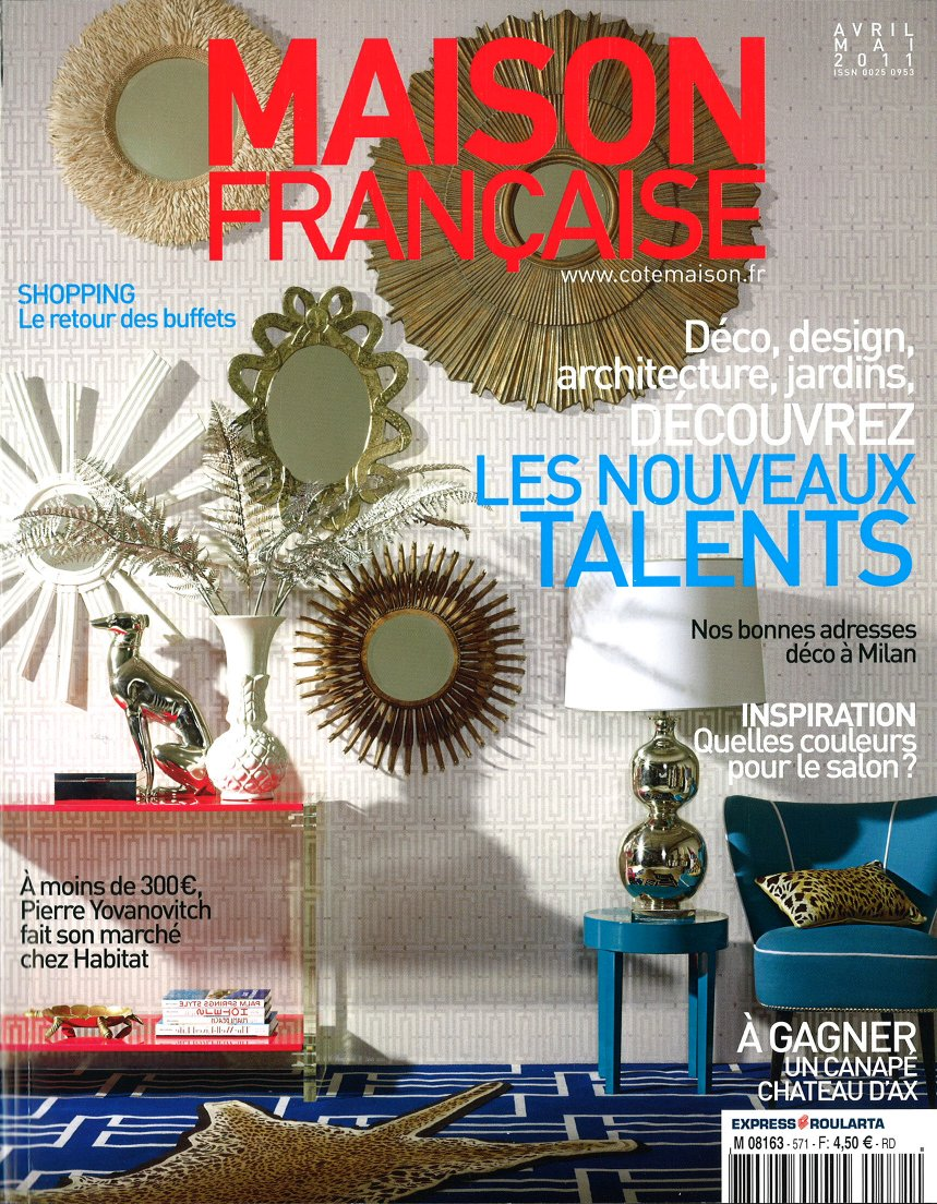 jean dange my console in maison francaise magazine april may 2011. Black Bedroom Furniture Sets. Home Design Ideas