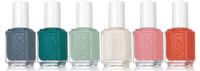 Essie Spring 2018 Collection - with swatches!