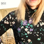 Link zu Shirt Sore oder das späteste 12 Colours of Handmade Fashion Finale zur Farbe Schwarz