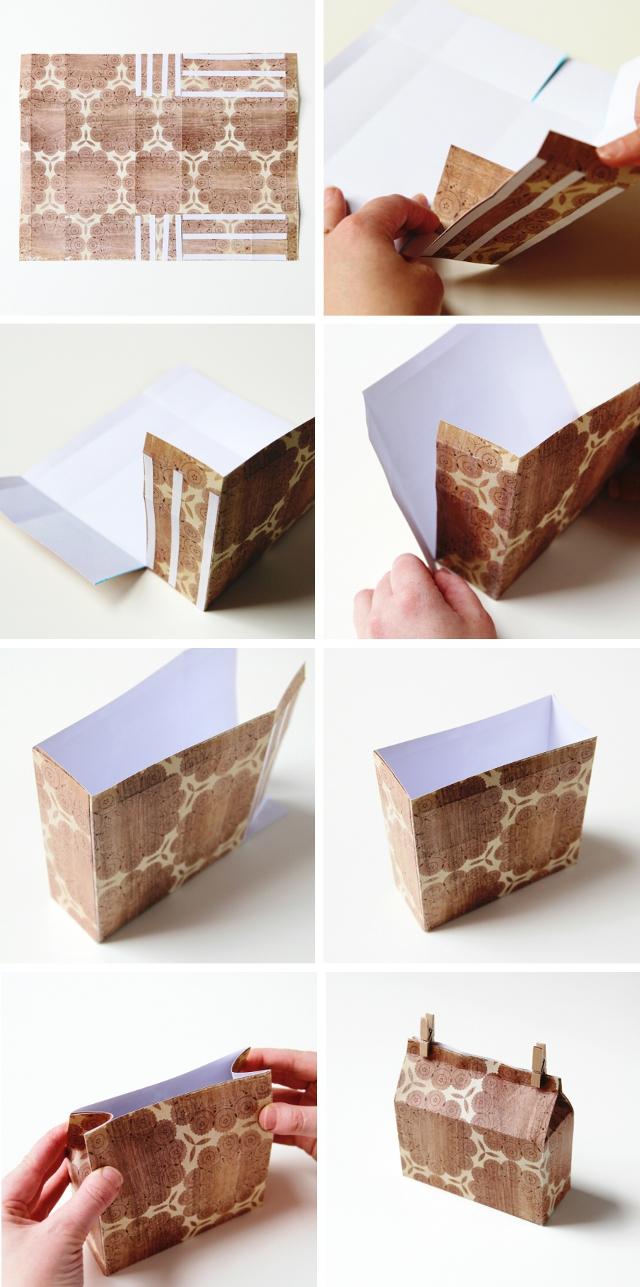 How to make Diy Rectangle Milk Carton Gift Boxes