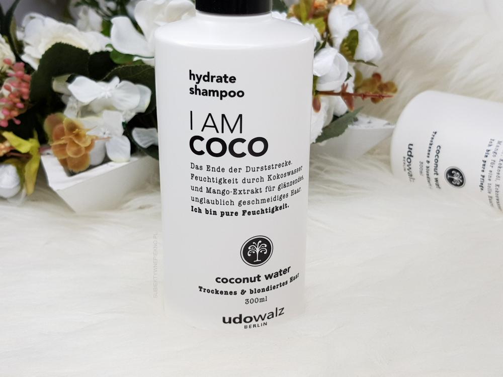 I AM COCO szampon UDO WALZ blog, opinie