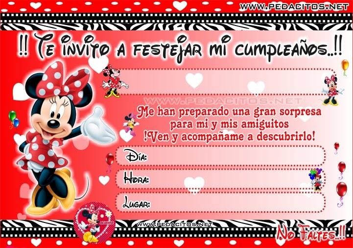 Tarjetas De Invitación De Cumpleaños De Mickey Mouse Para