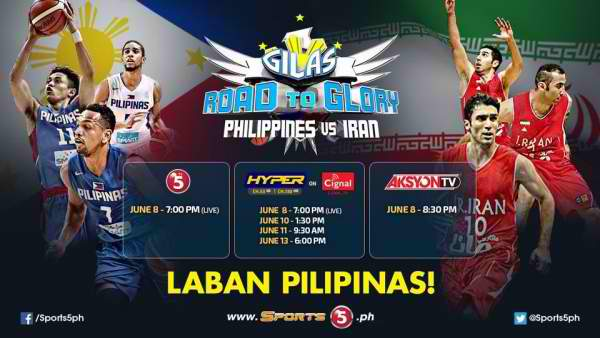 Video Highlights: Gilas Pilipinas vs. Iran (June 8, 2016)
