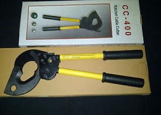 Darmatek Jual TaiShan CC-400 Tang Potong Kabel Manual