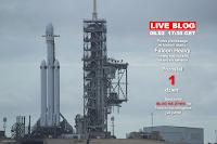 LIVE BLOG - Próba pierwszego w historii startu Falcon Heavy - wtorek 6 lutego, godzina 17:30