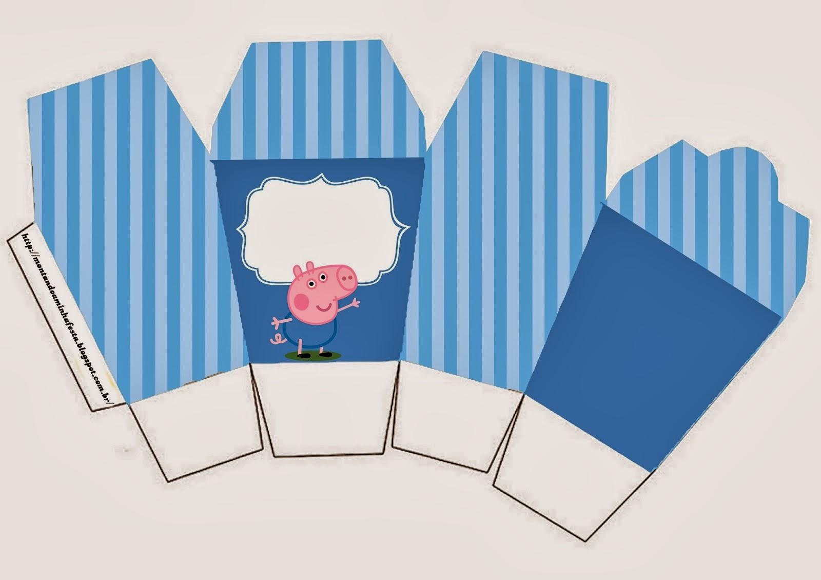 Cajas de George Pig para Imprimir Gratis.   Ideas y material gratis ...