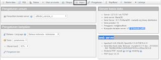 melakukan import database ke localhost