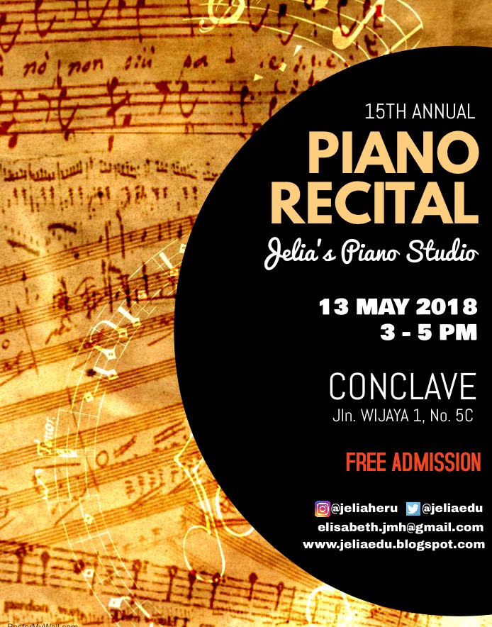 Piano Recital @ Conclave