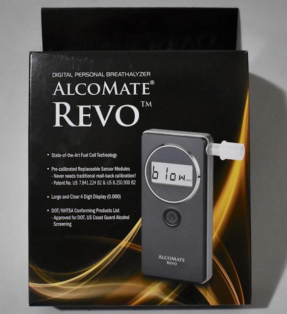 AlcoMate Revo Digital Personal Breathalyzer
