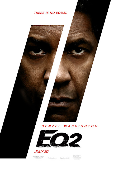 The Equalizer 2 2018 movie poster Denzel Washington