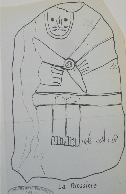 Un colosse de pierre âgé de 5 000 ans, l'inconnu de La Bessière