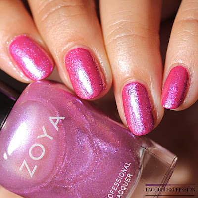 Nail polish swatch of Leisel from the Zoya Thrive Spring 2018 Collection