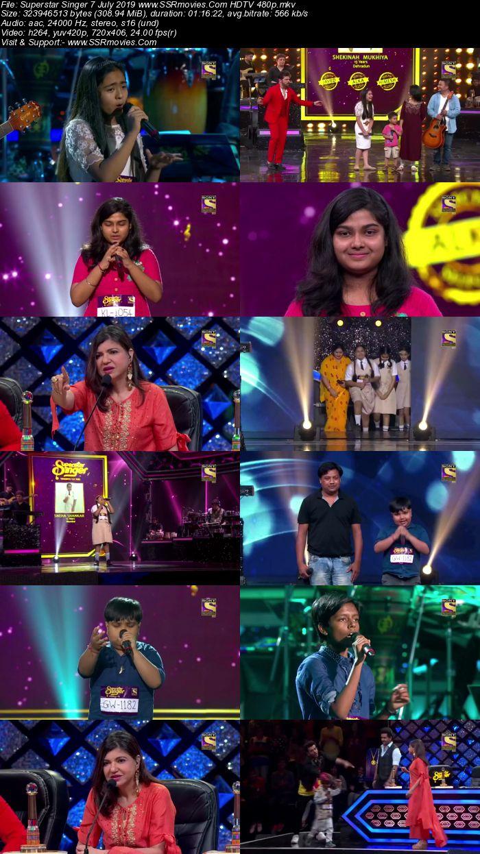 Superstar Singer 7 July 2019 HDTV 480p Full Show Download