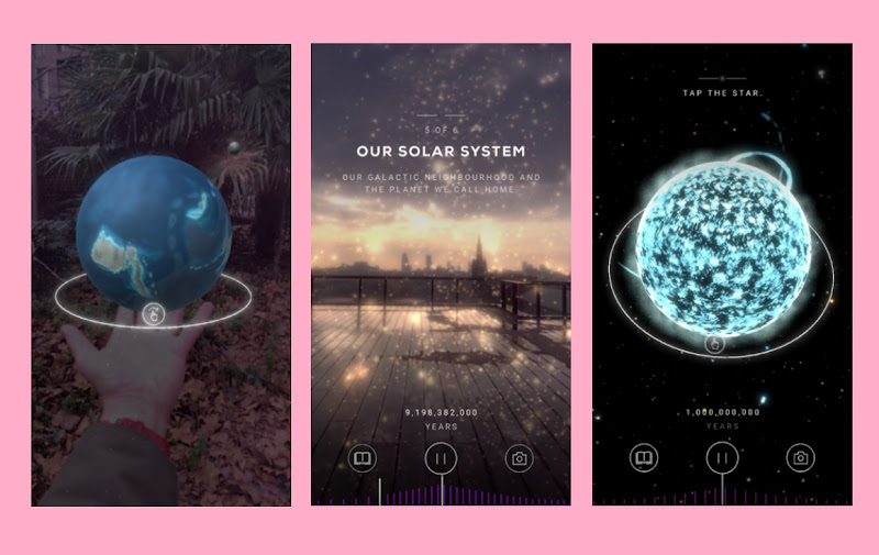 Google and CERN collaborate to create the Big Bang AR app