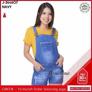 MNF360J114 Jumpsuit Overall Wanita 344607 Denim Jeans Jumpsuit 2019 BMGShop