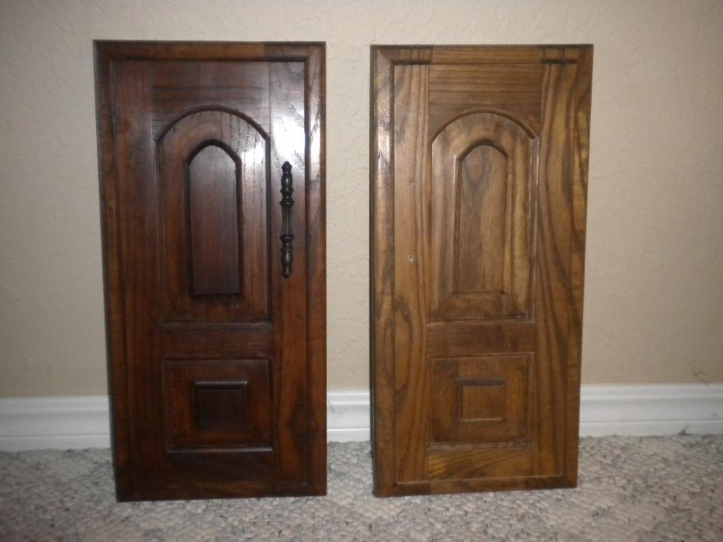 Capricious Craze: Darken wood furniture with Gel Stain