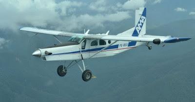 Pesawat Tabrak Rumah Warga (Honai) di Yahukimo, Papua