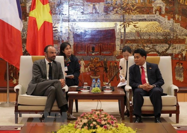 Hà Nội muốn Pháp cho vay tiếp vốn ODA ưu đãi cho dự án giao thông