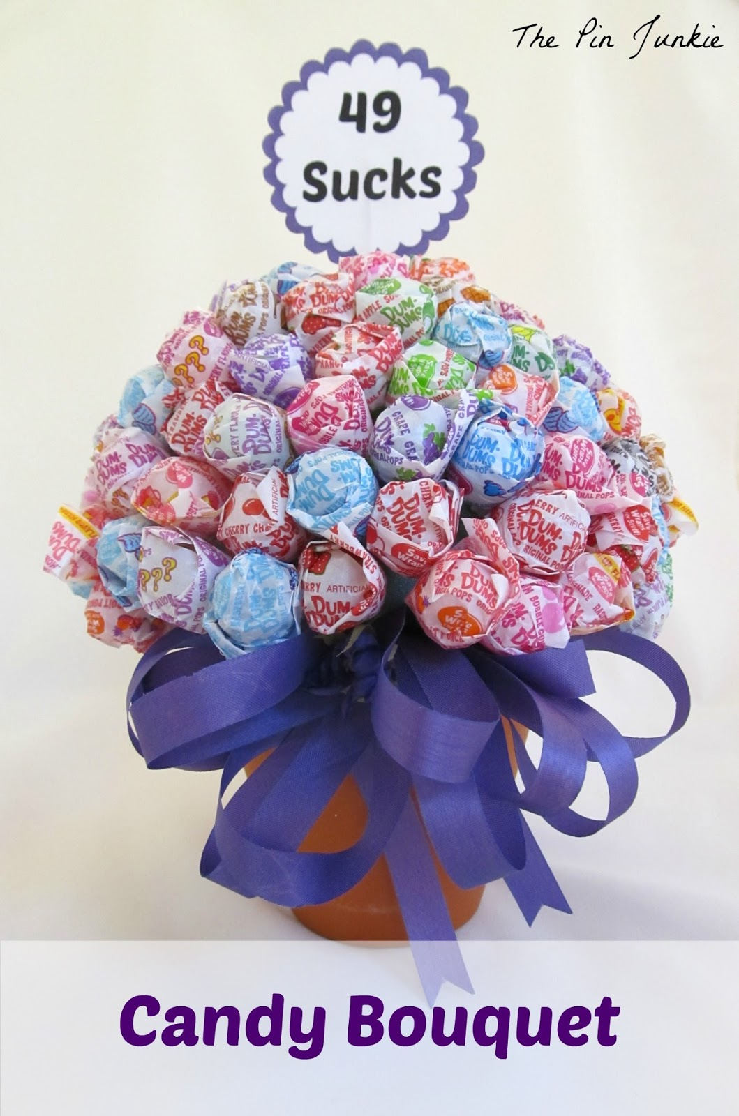 Birthday Candy Bouquet