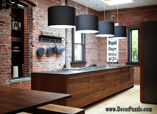 Chic Industrial kitchen style decor and furniture - Top secrets