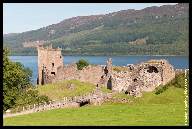 Castillo Urqhuart (Escocia)