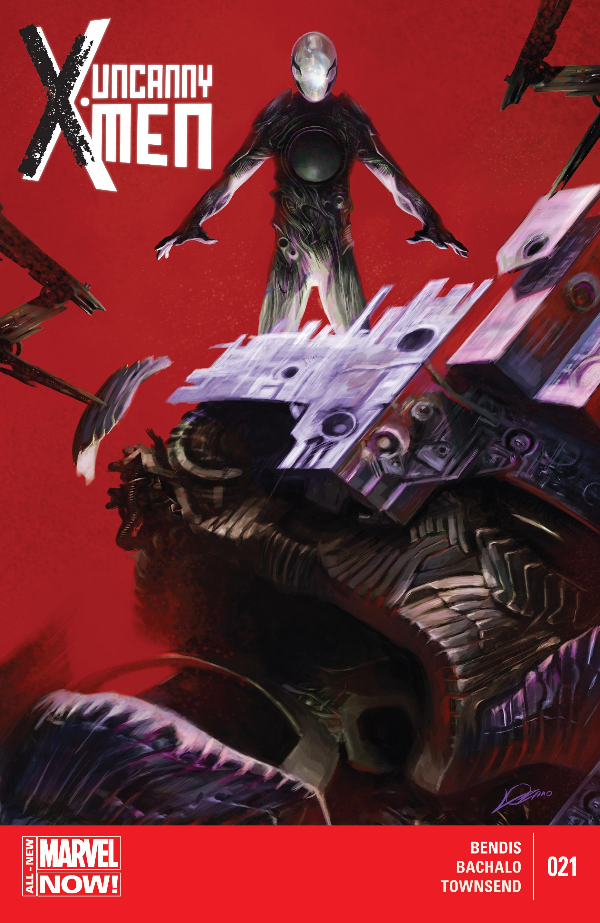 Read online Uncanny X-Men (2013) comic -  Issue #21 - 1