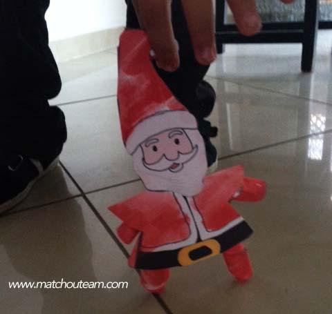 paper toys Père Noël